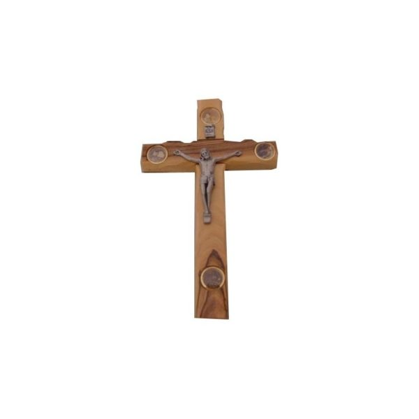 Cross with 4 holy items on it 8.8″x5.5″ OWCO11F