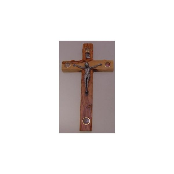 Cross with 4 Holy Items
