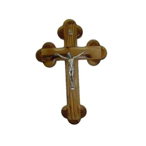 Olive wood 14 station Cross with Crusifix 5 sizes from 5″ to 10″