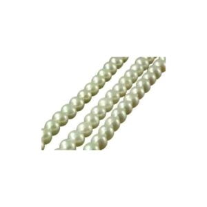 Round Fresh water Pearls 16″ string full of Pearls size 6.5-7mm