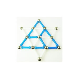 Israel Magnetic Star of David  5.5 inches (37 pieces)