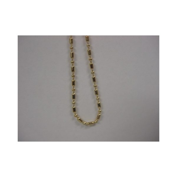 Gold Plated 20 inches chain with 0.5 micron Gold plating