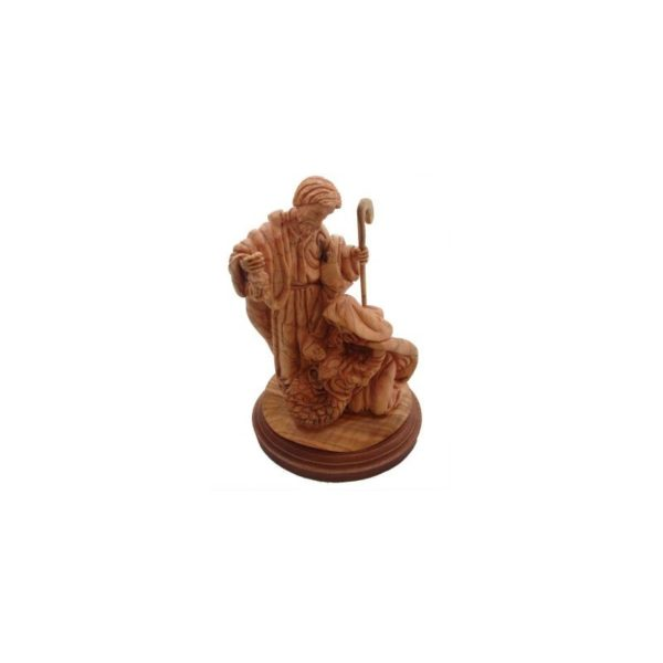 Olive Wood Holy Family 8.0*5.5*4.5 inches OWS11