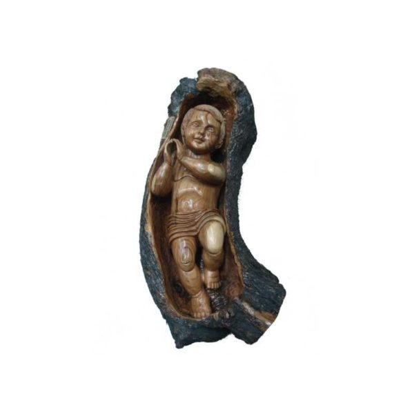 Baby Jesus Figurine In Manger