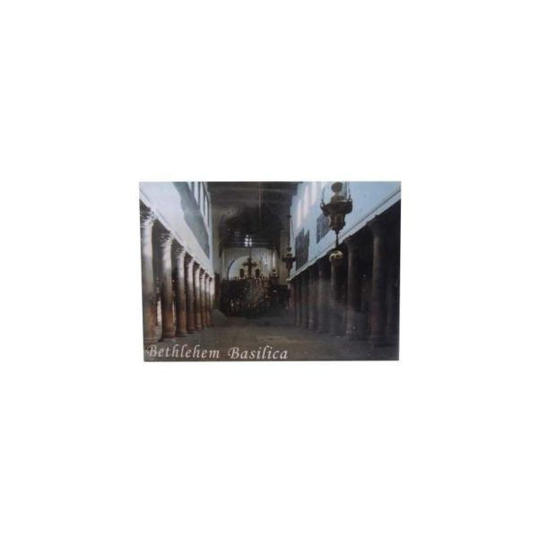 Bethlehem Basilica Picture Magnet 2.1*3.0 Inches PM22