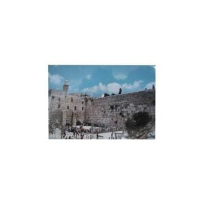 Western Wall Picture Magnet 2.1*3.0 Inches PM33