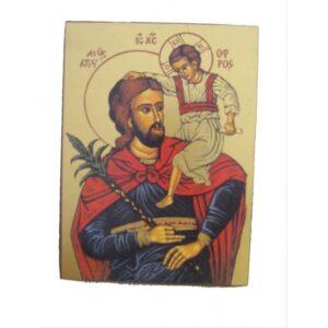 Saint Ofros Unframed Icon IC403