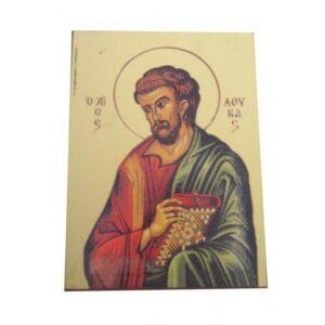 Saint Luke Unframed Icon IC408