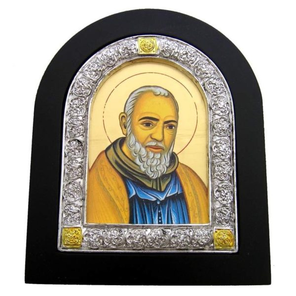 St. Padre Pio Framed Icon IC137