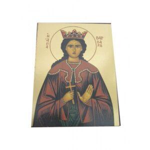 Saint Barbara Unframed Icon IC421