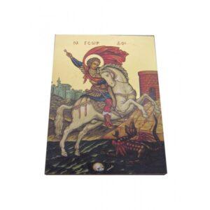 Saint George Unframed Icon IC426