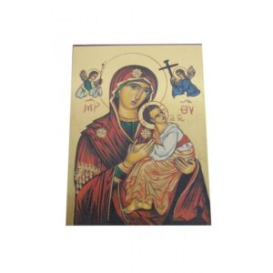 Virgin Of Passion Unframed Icon IC427