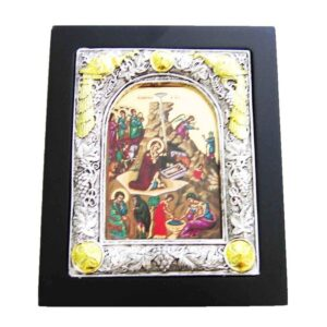 The Nativity Framed Medium Size Icon IC141G