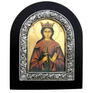 Saint Barbara Framed Large Size Icon IC129