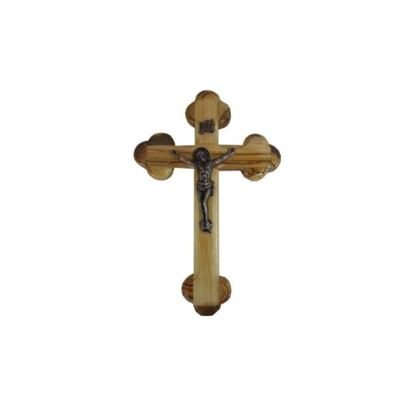 Olive Wood With Crucifix OWCRO42
