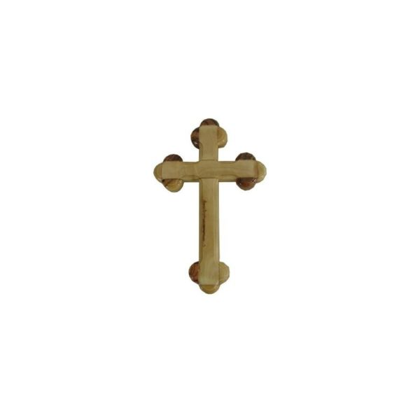 Olive Wood Byzantine Cross OWCR044