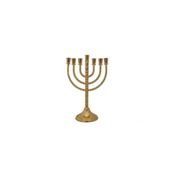Gold Plated Menorah MG2582
