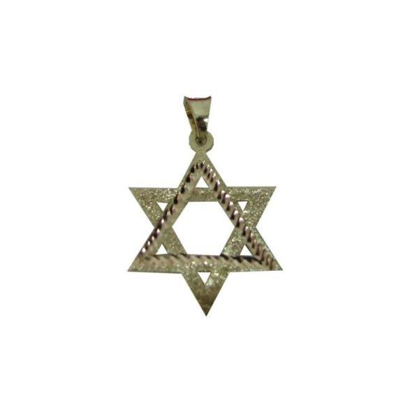 14K Gold Star Of David SODG321