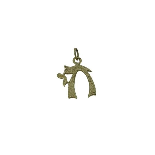 Chai Symbol Pendant Yellow Gold 18K Carats