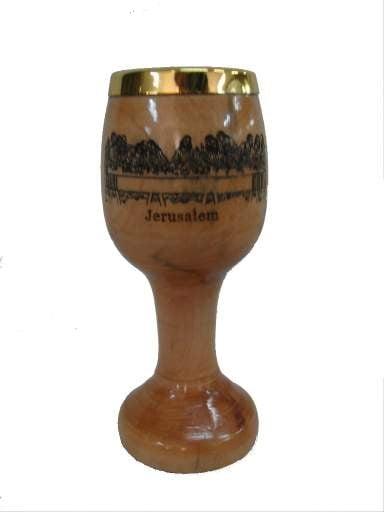 COMMUNION CUPS-olive wood