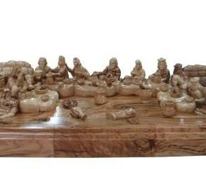 Olive Wood Last Supper According To The Bible, History and Traditions