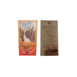 Card With Wood Cross & Packed Earth From The Holy Land HC08