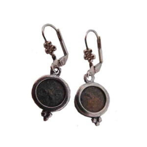 Antique Replica Widow's Mite Earring