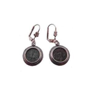 Antique Replica Widow's Mite Earring