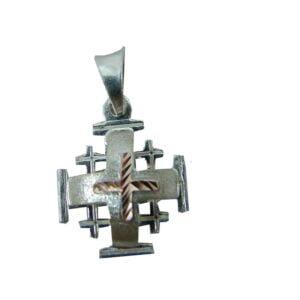 Sterling Silver Jerusalem Cross SSJCG8