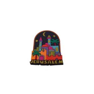 Jerusalem Magnet Picture CM01