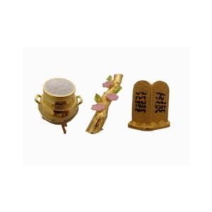 Aaron&#39s Rod,Manna Golden Pot & 10 commandments AR10CGPL