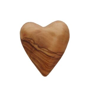 Olive Wood Heart Shape OWHS3