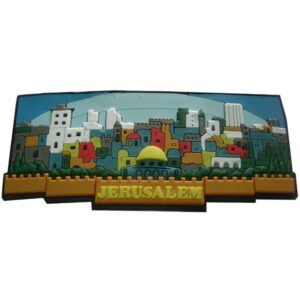 Panoramic Jerusalem Magnet Picture CM29