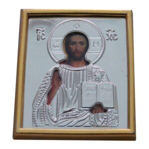 Christ Pantokrator Plastic Icon Sticker P10103