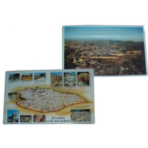 Jerusalem in Time of Jesus Placemat DM011