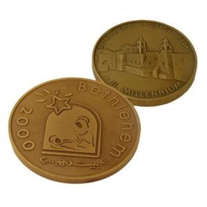 B2000 Logo Coin -Three Sizes – Bronze – LB60MM