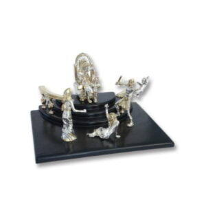 Electroforming Sterling Silver 925 King Solomon JW001