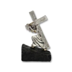 Electroforming Sterling Silver 925 Jesus Carries The Cross CH007