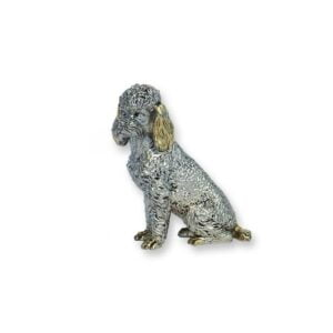 Electroforming Sterling Silver 925 Dog AN003