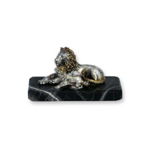 Electroforming Sterling Silver 925 Lion & Lamb AN009