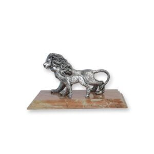 Electroforming Sterling Silver 925 Lion & Deer AN013