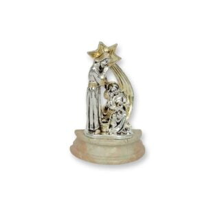 Electroforming Sterling Silver 925 Holy Family & Star NS003