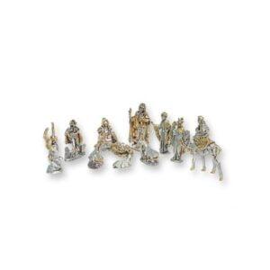 Electroforming Sterling Silver 925 Nativity  12 PCS NS007