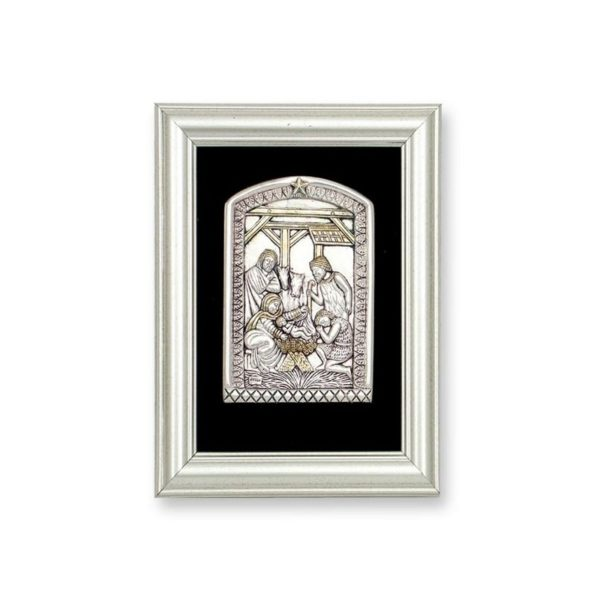 Electroforming Sterling Silver 925 Nativity FR009