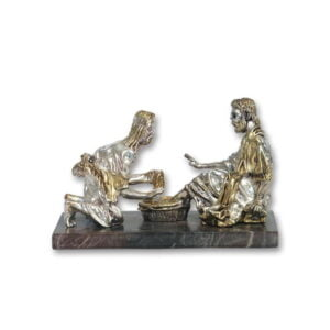 Jesus Washing Feet Figurine
