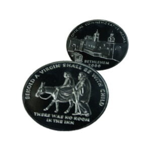 B2000 Nazreth Coin – Three Sizes – Silver Plated – NAZS60MM
