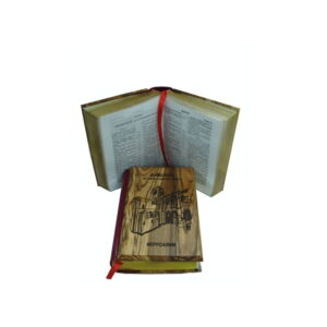 Olive Wood Bible From The Holy Land-Russian Book-OWBR06