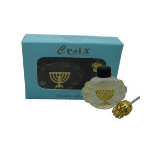 Psalm Perfume Menorah – White Croix Box