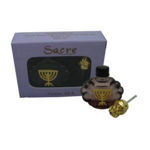 Psalm Perfume Menorah-Purple-Sacre Box PPMPS