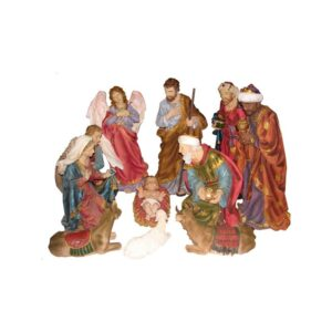42 Inches Resin nativity Set 11 Pcs.RNS42